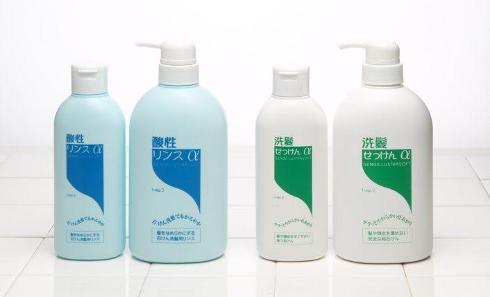 洗髪石鹸・アルファ&酸性リンス・アルファ