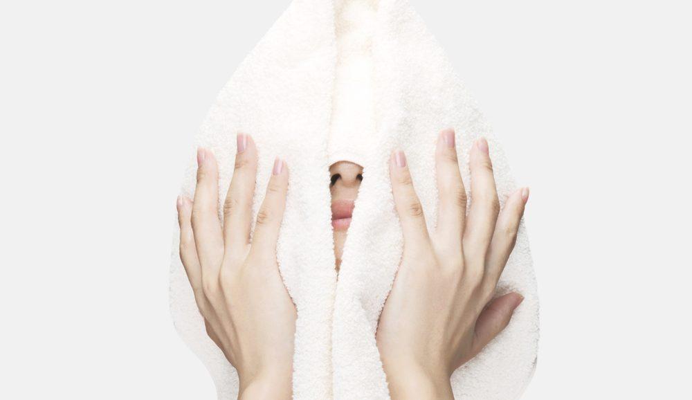 蒸しタオル美容法