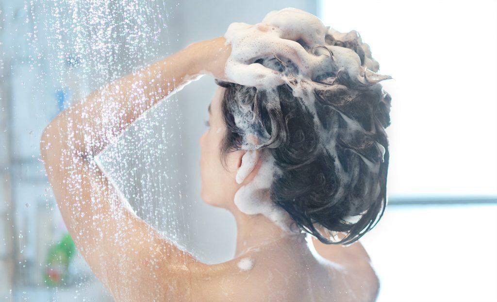 石鹸シャンプーの使い方