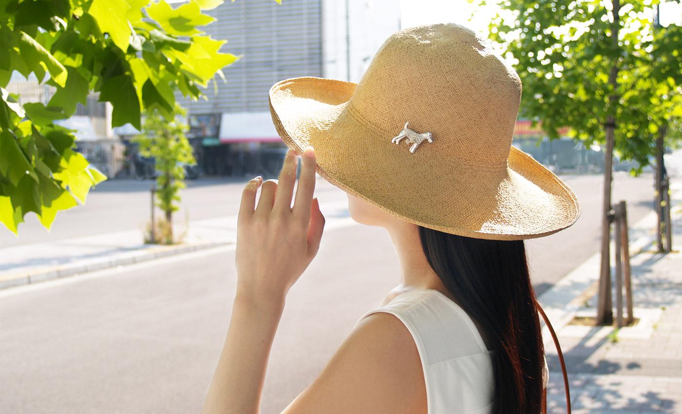 紫外線対策 帽子や、時間帯・日陰を選ぼう